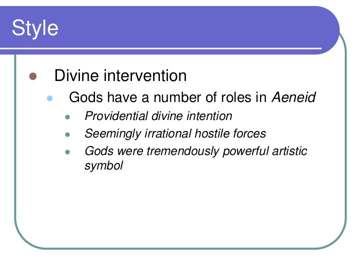 the importance of divine intervention in homers illiad