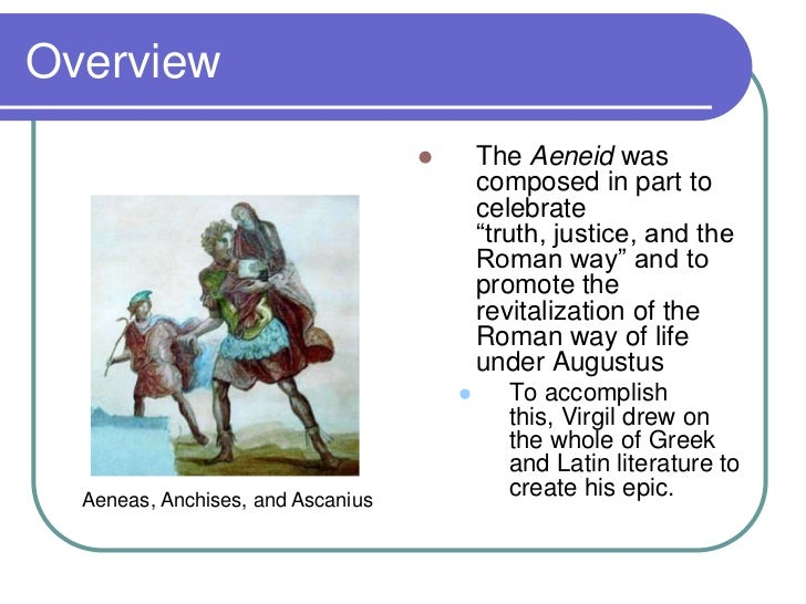 an introduction to the literary analysis of the aeneid by virgil In the eyes of such critics, the aeneid lacked everything that prevailing opinion   interpretation of the text, constantly drawing comparisons with virgil's model,   that will provide an excellent introduction to that art for yet another generation.