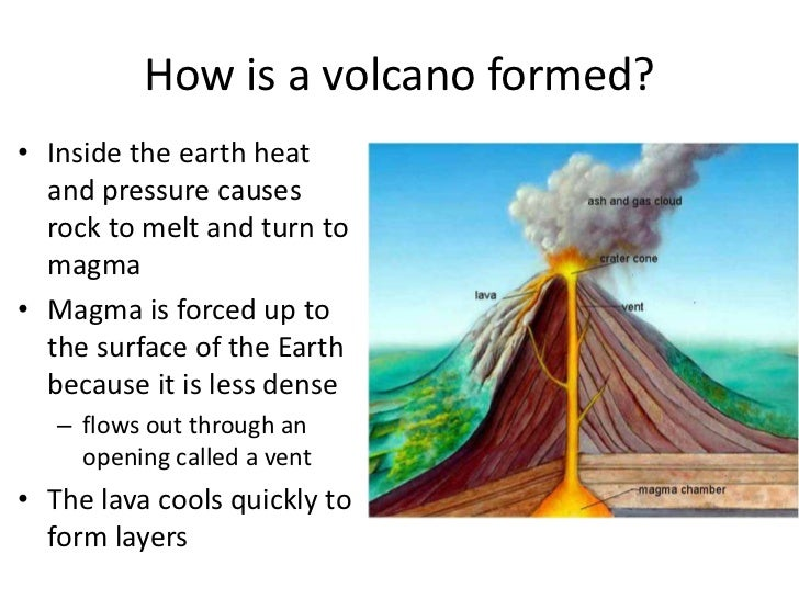 an introduction to the volcano and the volcanic eruptions