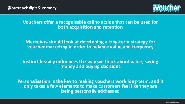 Introduction to Voucher Marketing