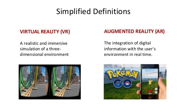 an introduction to the definition of virtual reality and how it works Nevertheless, things like interactive games and computer simulations would certainly meet parts of our definition up above, so there's clearly more than one approach to building virtual.