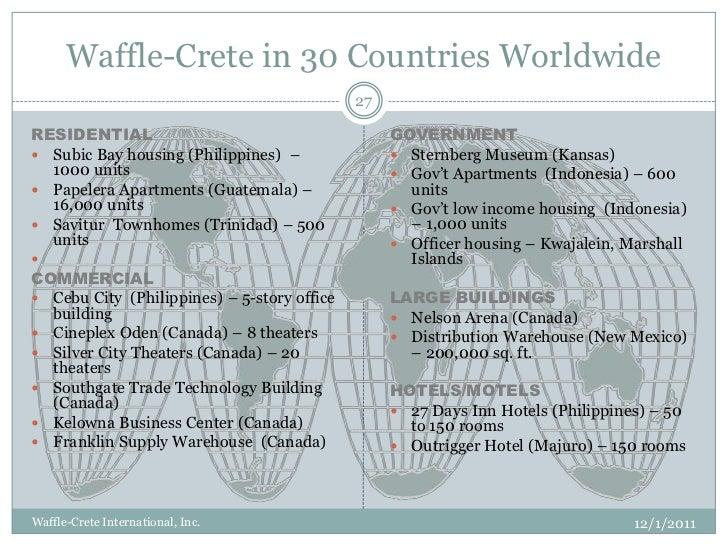 Introduction To The Waffle Crete Precast Concrete Building