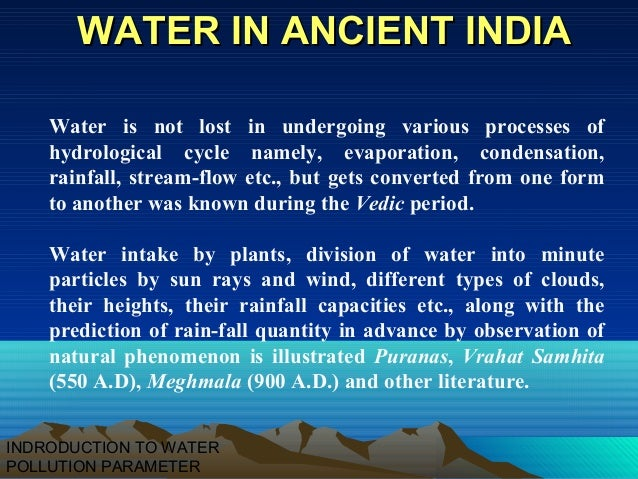 Water diseases introduction essay
