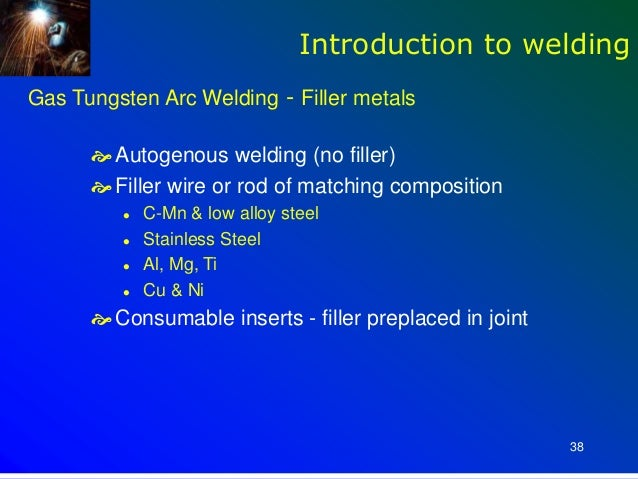an introduction to welding This introduction to welding engineering training course provides the welder, engineer, and inspector a practical understanding of welding technology, with a goal of.