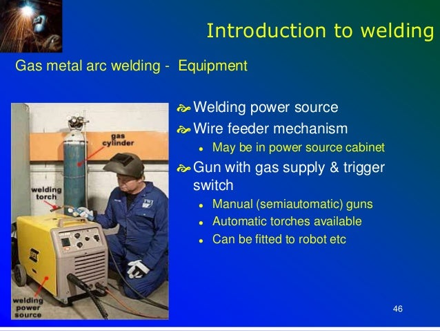 Introduction to Welding Inspection introduction to welding equipment
