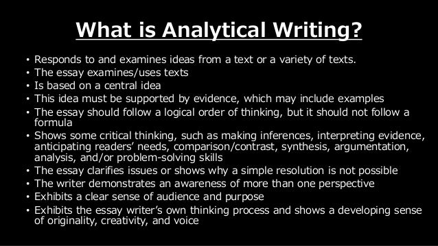 which is not a component of the introduction to an analytical essay Thesis statements, introductions, conclusions, and quotations  what you find  worthy of detailed analysis in source a may be mentioned only in passing by  your classmate  writers explain when they divide a subject into its component  parts and present  you will not be writing explanatory synthesis essays in this  course.
