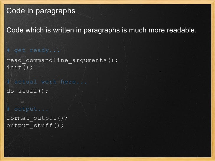 Introduction To Writing Readable And Maintainable Perl on Devel Nytprof Search Cpan Org
