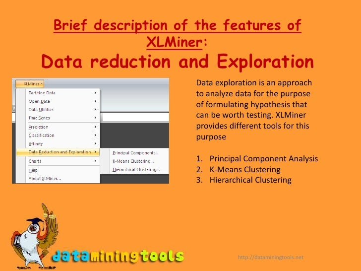 Academic Research edition</li></ul>The Demo edition and Educational Editions support only Excel.<br />http://dataminingtoo...