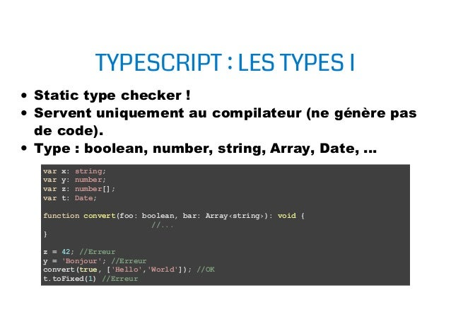 Introduction TypeScript