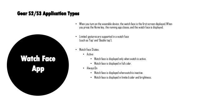 Tizen Studio Watch Face Developer Guide