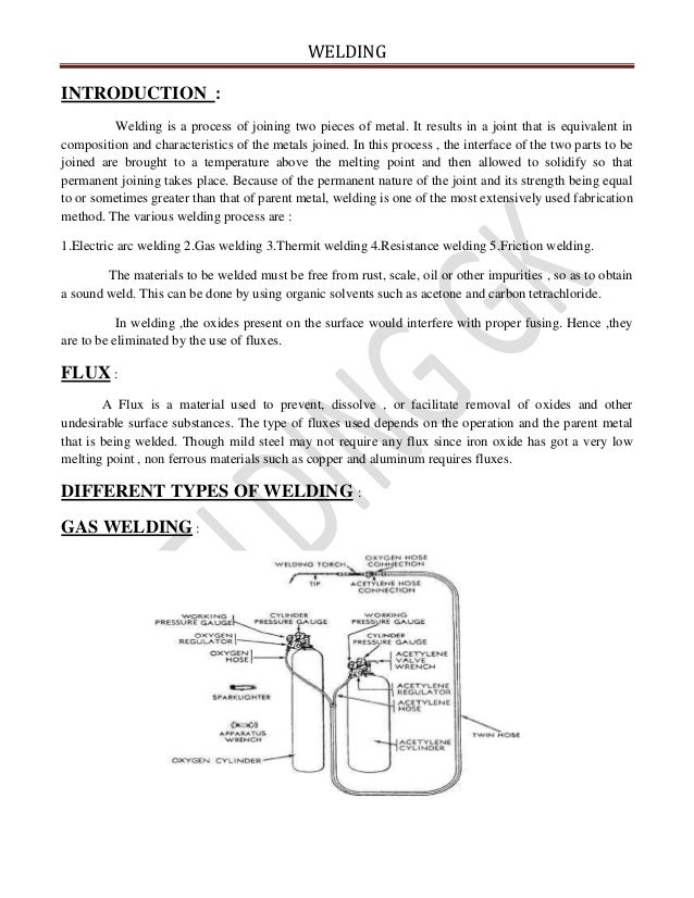 welding | Types & Definition introduction for welding