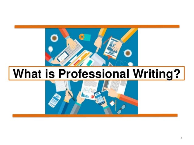 What is a professional essay