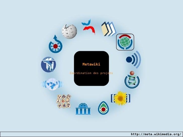 Metawiki Coordination des projets