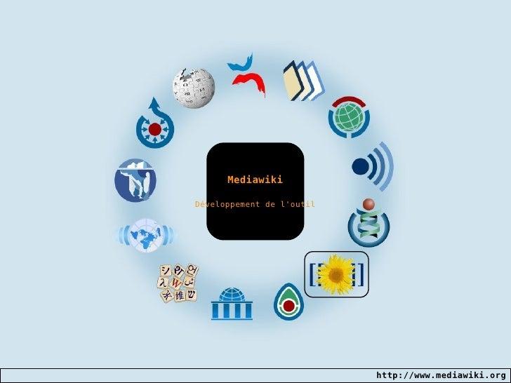 Mediawiki Développement de l'outil
