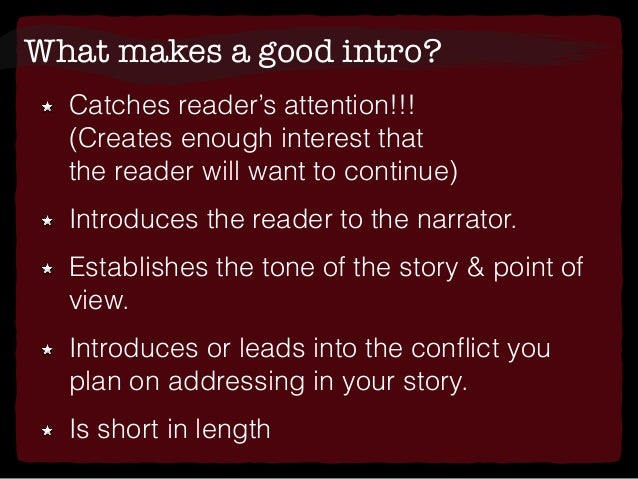 purpose of essay introduction