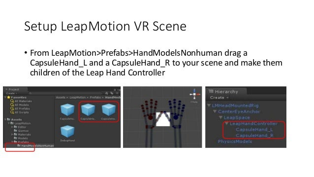 Introductory Leap Motion and Virtual Reality in Unity 3D