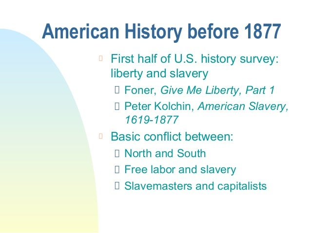 Book Review American Slavery: 1619-1877 by Peter Kolchin