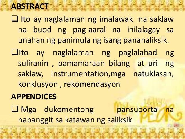 saklaw at limitasyon ng pag aaral Saklaw at limitasyon ng pag-aaral ang pag-aaral na ito ay gagawin sa college of arts and letters na kung saan nanduon ang 50 estudyante ng.
