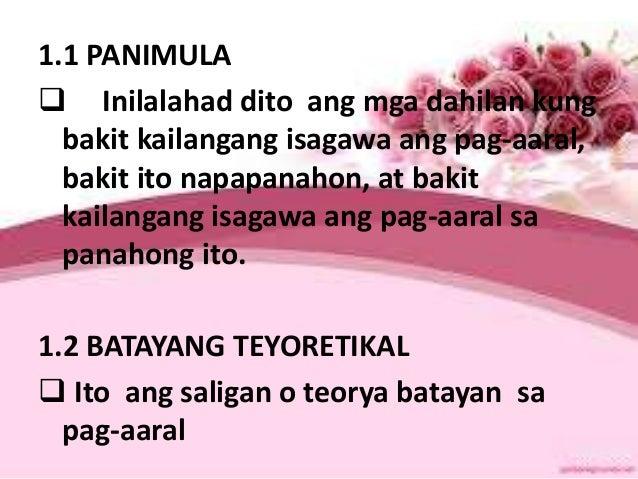mga pananaliksik Mga bahagi ng pananaliksik - duration: 1:39 mhara viernes 10,945 views filipino 2 pananaliksik#2 - duration: 6:30 jelvin lagunsay 6,434 views.