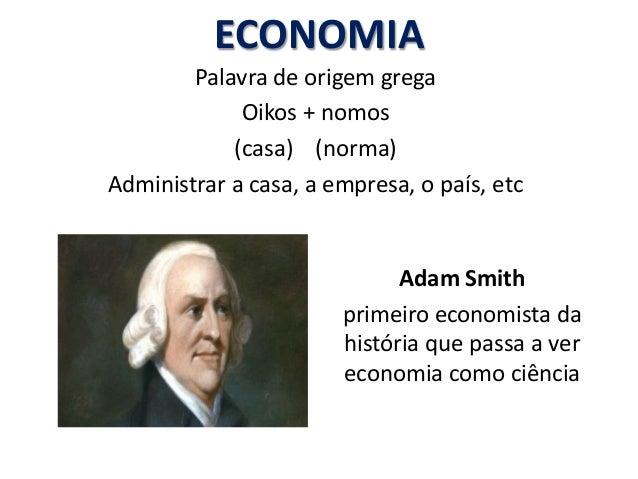 Introdução à Economia Slide 2