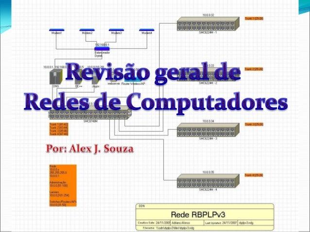 Princípios de Rede  Uma rede de dados de um computador é uma coleção de hosts conectados por dispositivos em rede. Um hos...