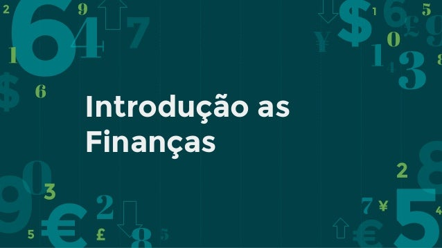 Introdução as Finanças