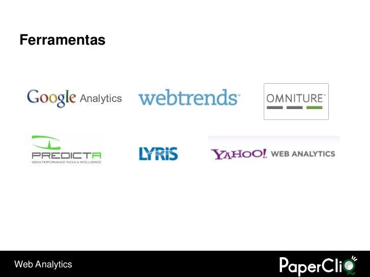 Ferramentas     Web Analytics