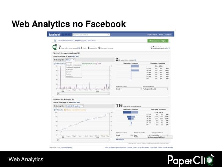 Web Analytics no Facebook     Web Analytics