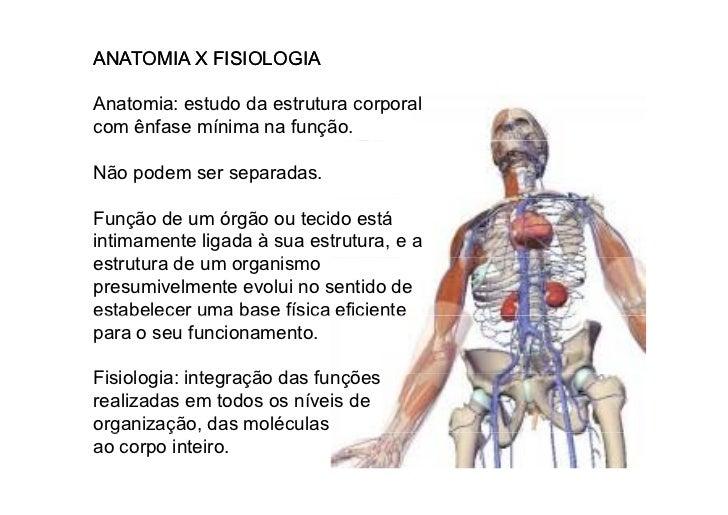Introdução à Fisiologia - Fisiologia Slide 3