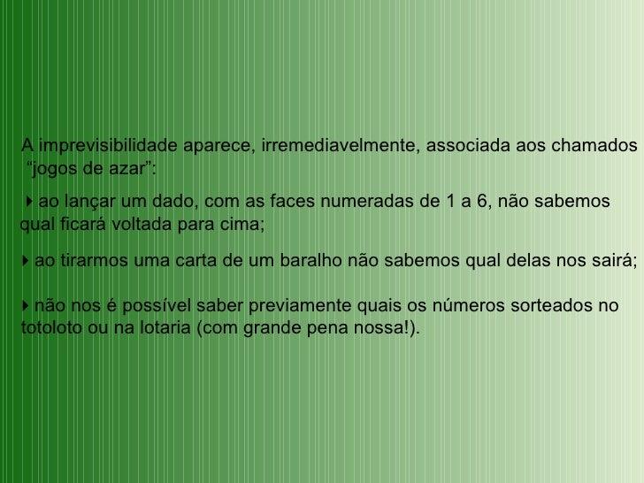 Introdução à teoria das probabilidades Slide 3