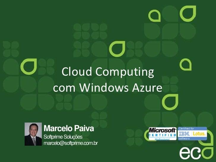 Cloud Computing com Windows Azure