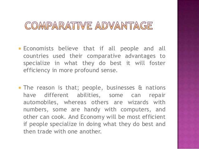 What is 'Comparative Advantage'