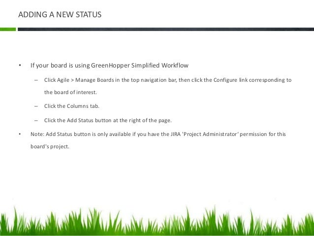 GREENHOPPER – RELEASING A VERSION • The 'Release' window will display • Complete the fields as follows: • Version name — E...