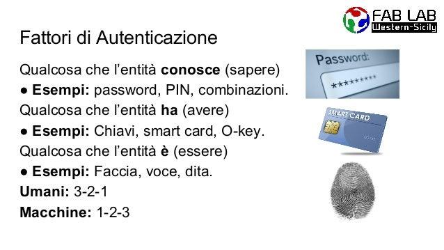 Complessità della Password Una buona password: ● d3v3 av4r3 t4nt1 c4r4tt3r1!! ● dEvE mIxArE MiNuScOLE a MaIuScOlE ● deveee...