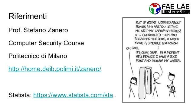 Introduzione alla  sicurezza informatica