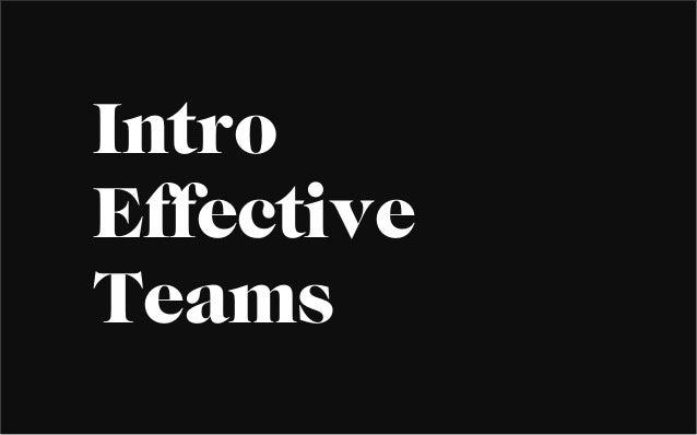 IntroEffectiveTeams