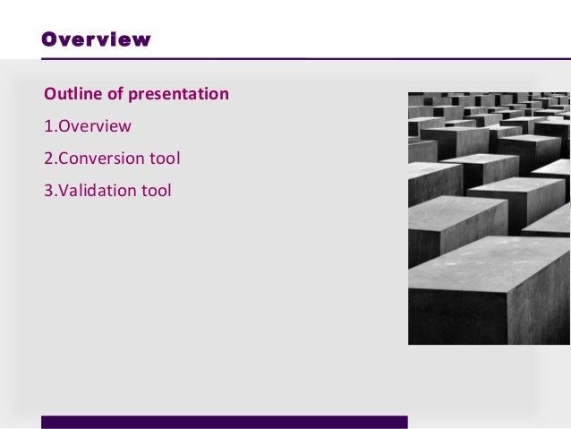 EHRI Conversion Tool Slide 2