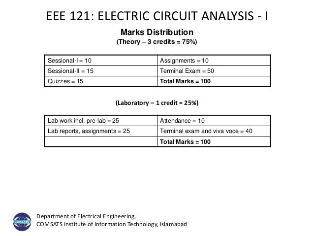 Electric Circuit - Introduction + Lecture#1 Slide 2