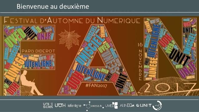 Festival d'Automne du Numérique 2017 : Introduction Slide 2