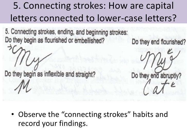handwriting analysis presentation