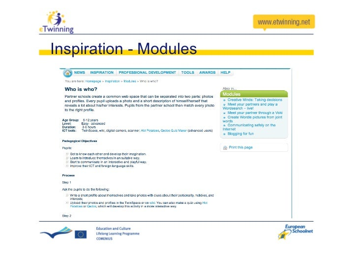 eTwinning 2.0 Twinspace change                       From this