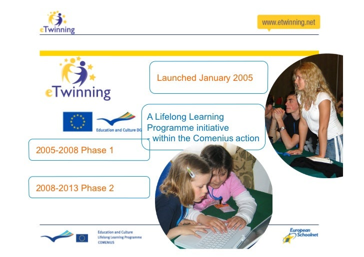 Launched January 2005                        A Lifelong Learning                     Programme initiative                 ...
