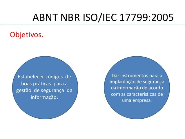 NBR ISO IEC 17799 DOWNLOAD