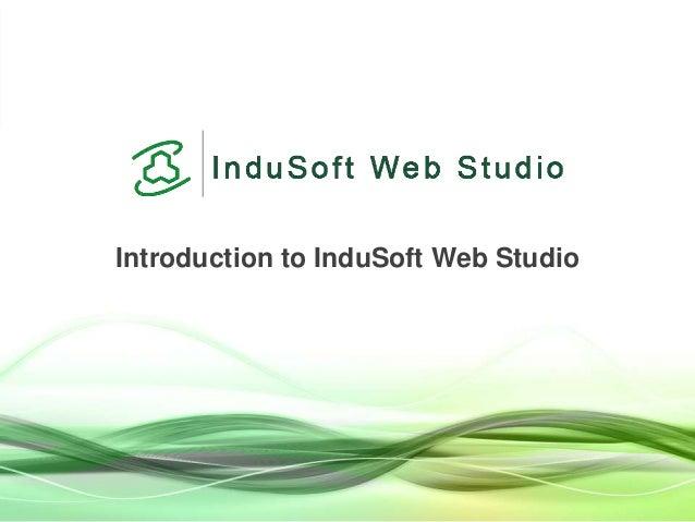 Introduction to InduSoft Web Studio