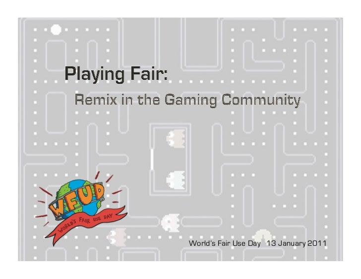 World's Fair Use Day 13 January 2011