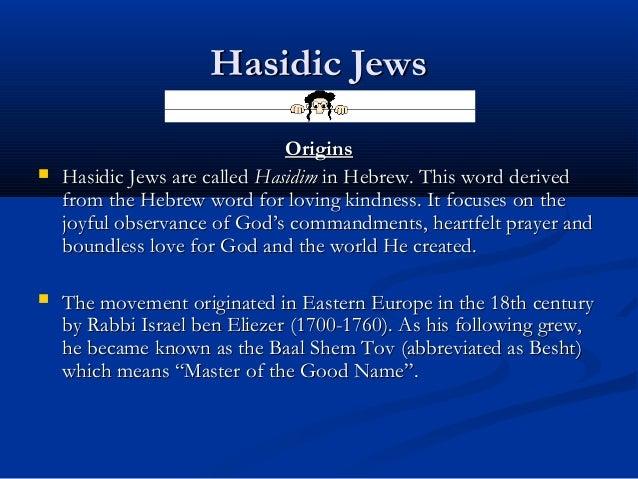 Hasidic judaism beliefs and practices