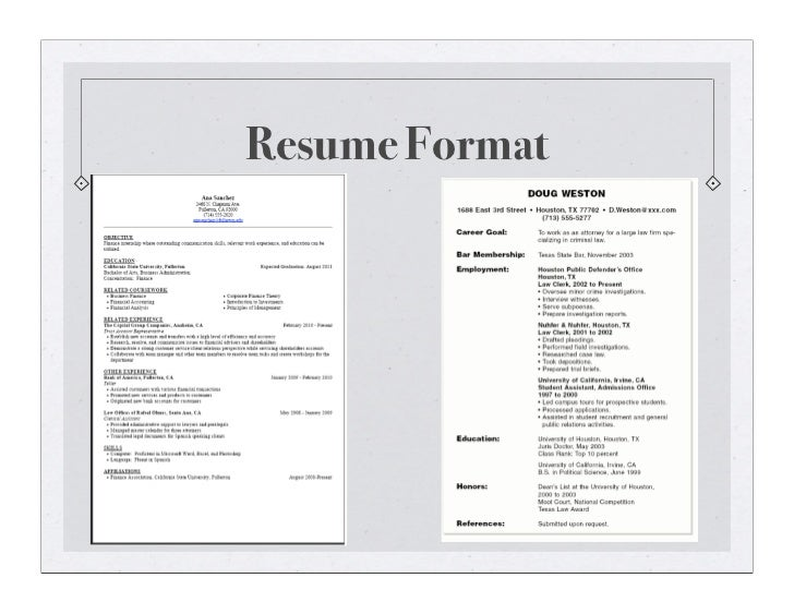 awards references 3 resume
