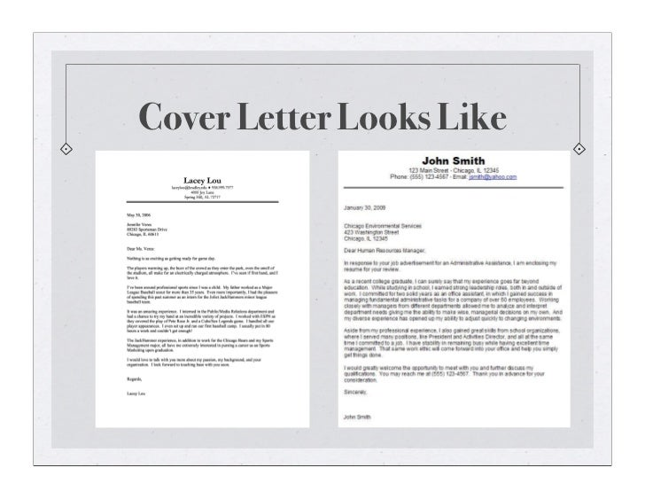 introductory cover letter