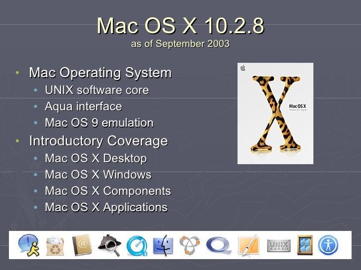 Introductory Mac OS X