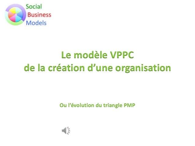 Le modèle VPPC de la création d'une organisation Ou l'évolution du triangle PMP
